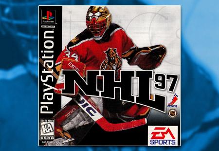 PSX PlayStation NHL 97