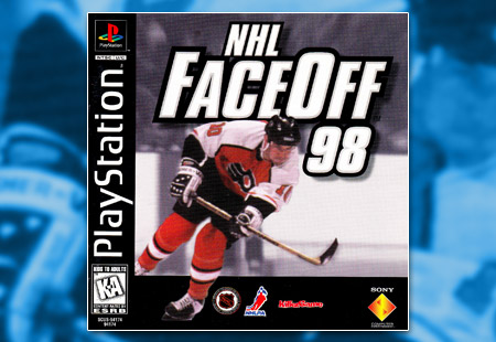 PSX PlayStation NHL Face Off 98
