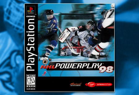 PSX PlayStation NHL Powerplay '98