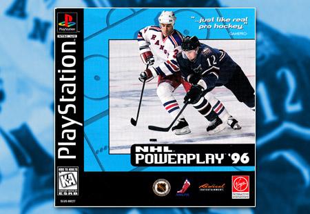 PSX PlayStation NHL Powerplay '96