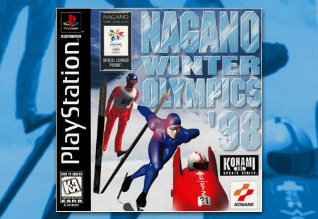 PSX PlayStation Nagano Winter Olympics '98