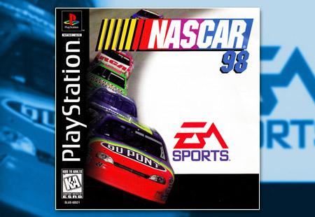 PSX PlayStation NASCAR 98