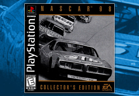PSX PlayStation NASCAR 98 Collector's Edition