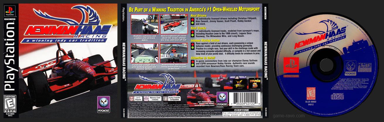 PSX PlayStation Newman / Haas Racing