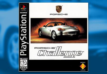 PSX PlayStation Porsche Challenge