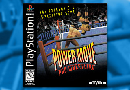 PSX PlayStation Power Moves Pro Wrestling