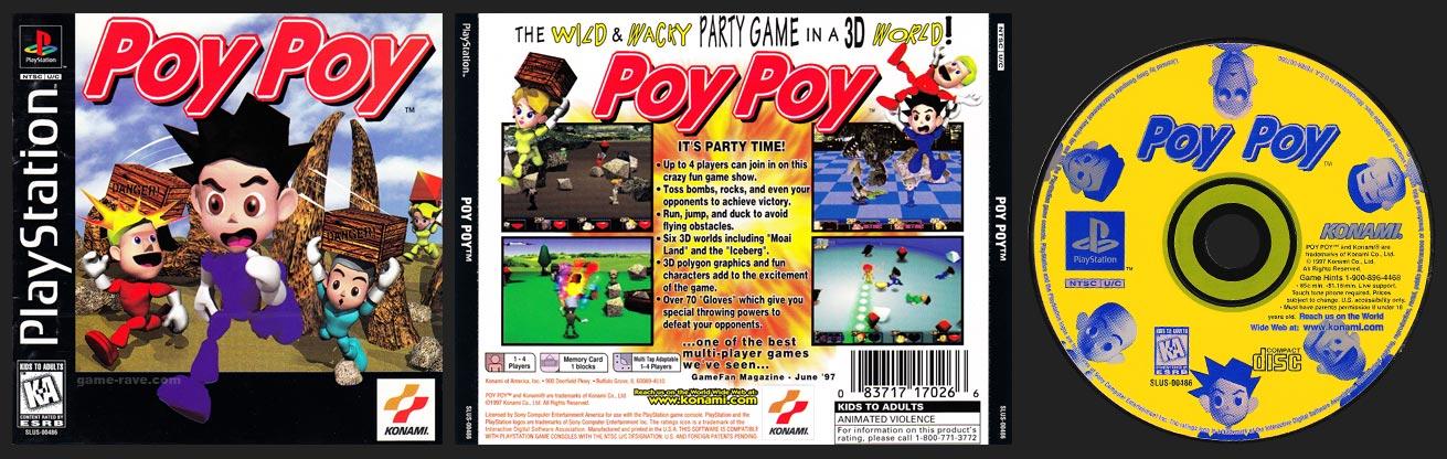 PSX PlayStation Poy Poy