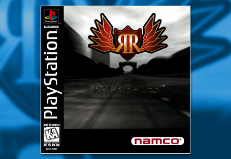PSX PlayStation Rage Racer