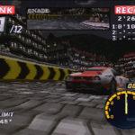 PSX PlayStation Rage Racer