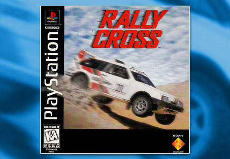 PSX PlayStation Rally Cross