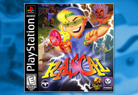 PSX PlayStation Rascal