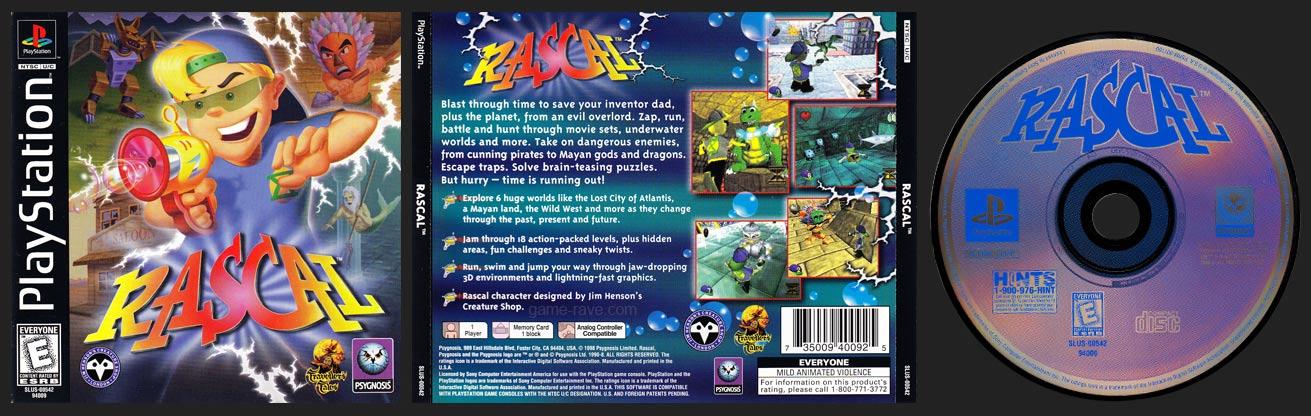 PSX PlayStation Rascal
