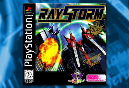 PSX PlayStation RayStorm