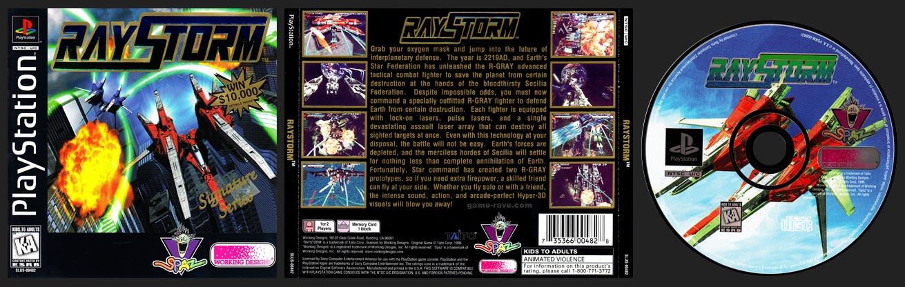PSX PlayStation RayStorm