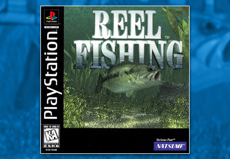 PSX PlayStation Reel Fishing