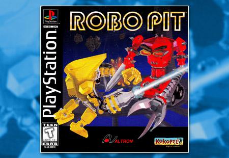 PSX PlayStation Robo Pit
