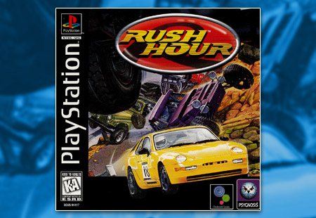 PSX PlayStation Rush Hour
