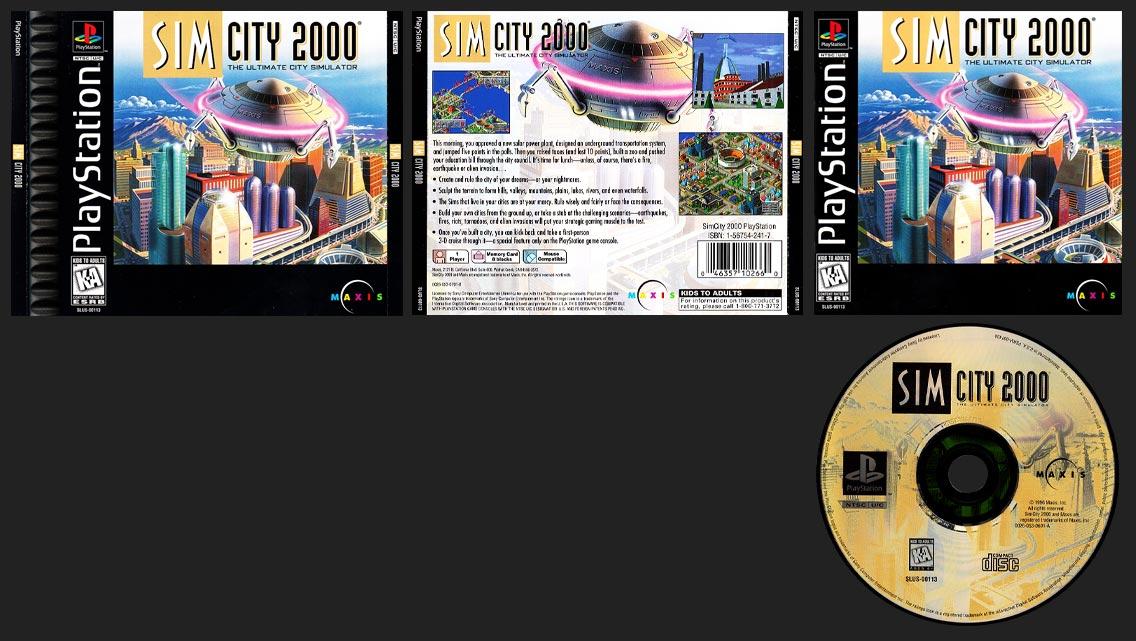 PSX SIm City 2000 1 Ring Hub Variant