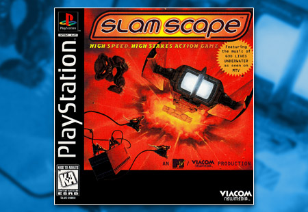 PSX PlayStation SlamScape