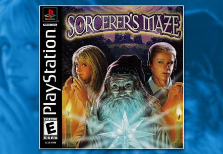 PSX PlayStation Sorcerer's Maze