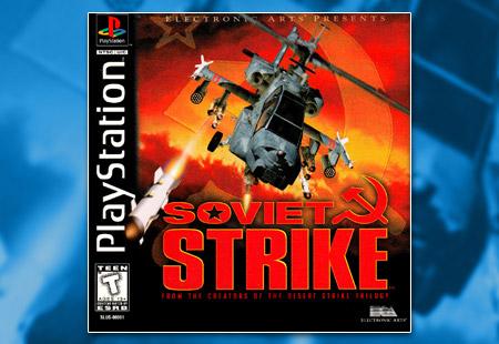 PSX PlayStation Soviet Strike