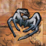 PSX PlayStation Spider - The Video Game Poster