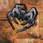PSX PlayStation Spider - The Video Game Poster Take Two Front
