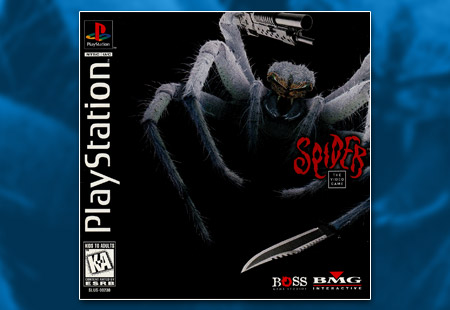 PSX PlayStation Spider - The Video Game