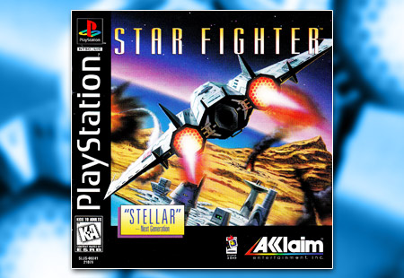 PSX PlayStation Star Fighter