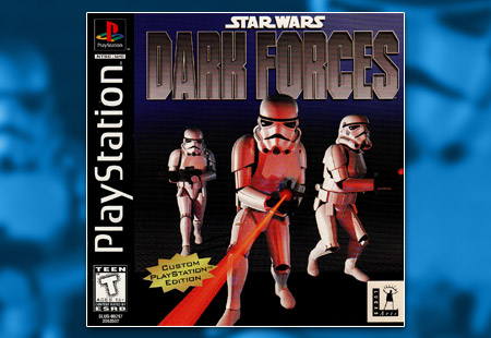 PSX PlayStation Star Wars: Dark Forces