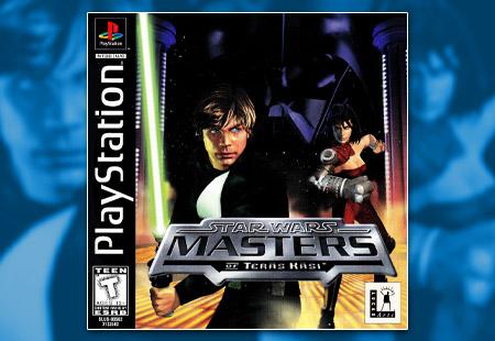 PSX PlayStation Star Wars: Masters of Teras Kasi
