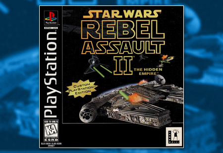 PSX PlayStation Star Wars Rebel Assault II The Hidden Empire