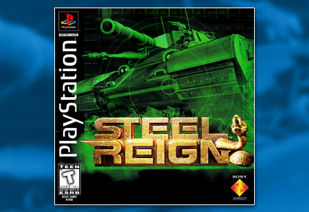 PSX PlayStation Steel Reign