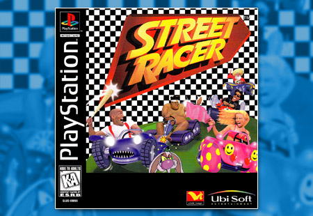 PSX PlayStation Street Racer
