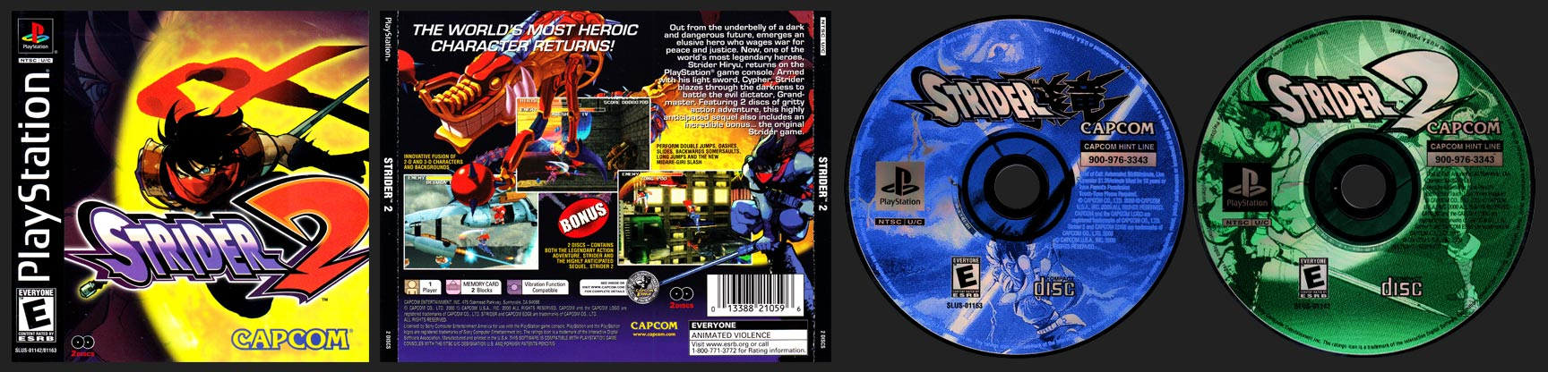 PSX PlayStation Strider 2