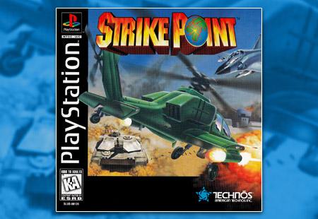 PSX PlayStation Strike Point