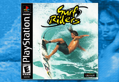 PSX PlayStation Surf Riders