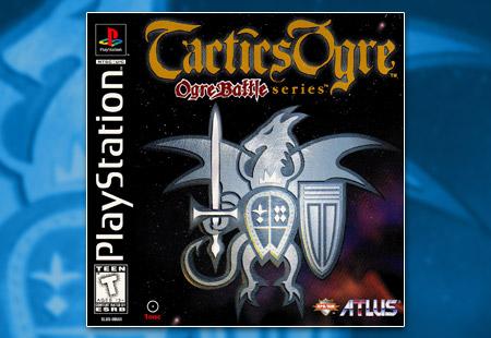 PSX PlayStation Tactics Ogre
