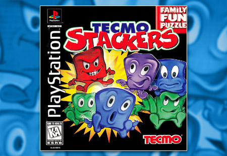 PSX PlayStation Tecmo Stackers