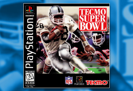 PSX PlayStation Tecmo Super Bowl