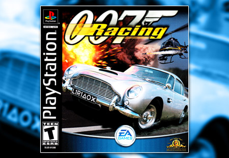 PSX PlayStation 007 Racing