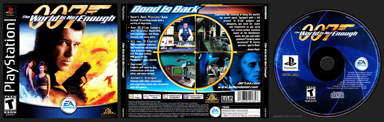 PSX PlayStation 007: The World is Not Enough