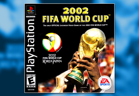PSX PlayStation 2002 FIFA World Cup