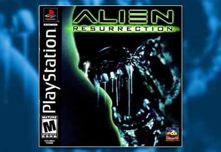 PSX PlayStation Alien Resurrection