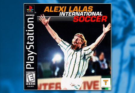 PSX PlayStation Alexi Lalas International Soccer