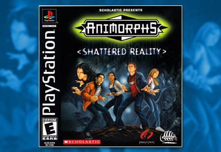 PSX PlayStation Animorphs Shattered Reality