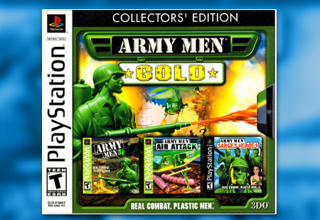 PSX PlayStation Army Men Gold: Collector's Edition