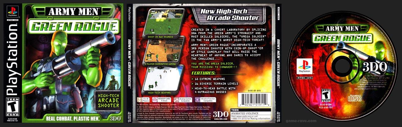 PSX PlayStation Army Men: Green Rogue