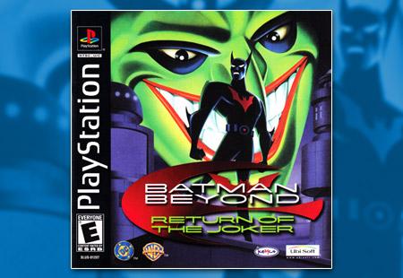 PSX PlayStation Batman Beyond: Return of the Joker