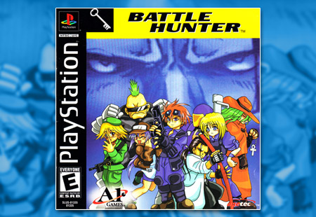 PSX PlayStation Battle Hunter